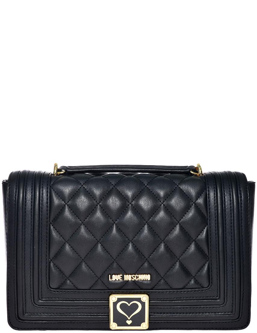 Фото - Женская сумка Love Moschino 4202_black