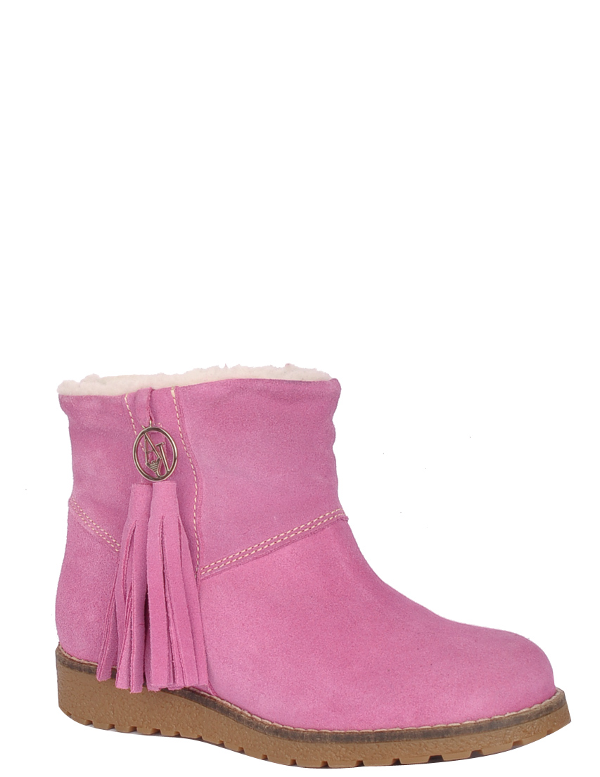 Купить Ботинки, ARMANI JEANS, Розовый, Осень-Зима
