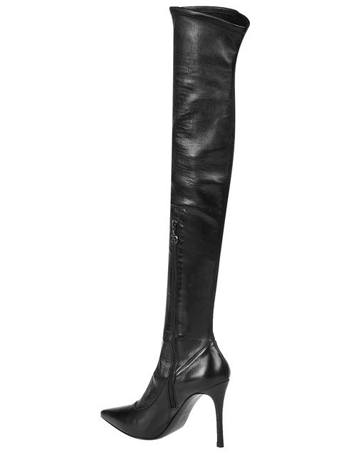 женские черные Ботфорты Fabi 4385_black - фото-2