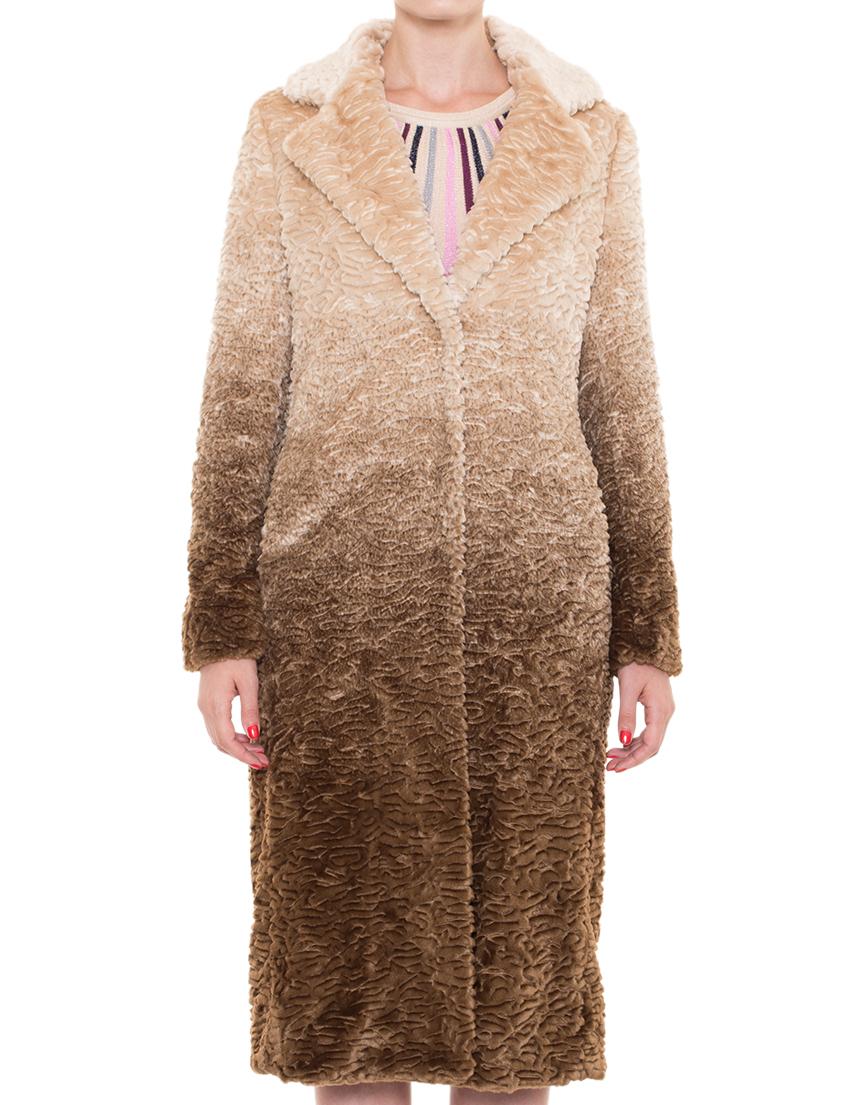 Купить Пальто, PATRIZIA PEPE, Бежевый, 80%Акрил 20%Полиэстер, Осень-Зима