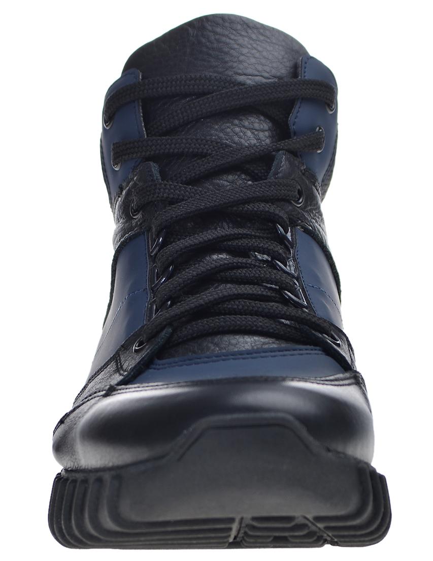 Фото 4 - мужские кроссовки  цвет синий, черный