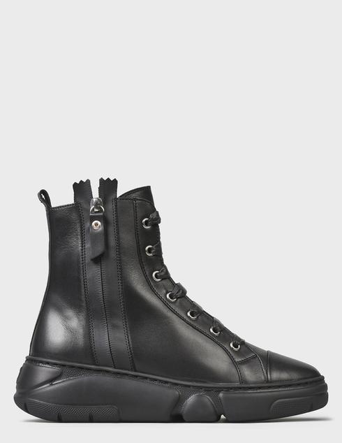 женские черные Ботинки Agl D938505BGKA0761013 - фото-7