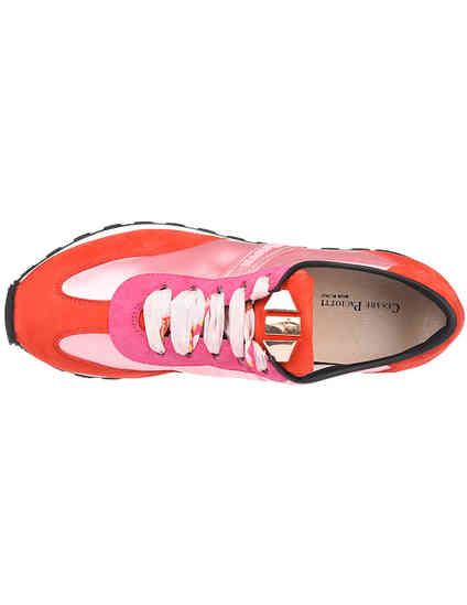 розовые Кроссовки Cesare Paciotti 461905-pink размер - 38; 38.5; 40