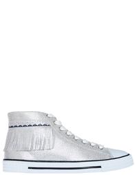 Женские кеды Trussardi Jeans 79514_silver