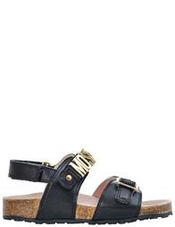 Детские сандалии для девочек Moschino 25871-nero_black