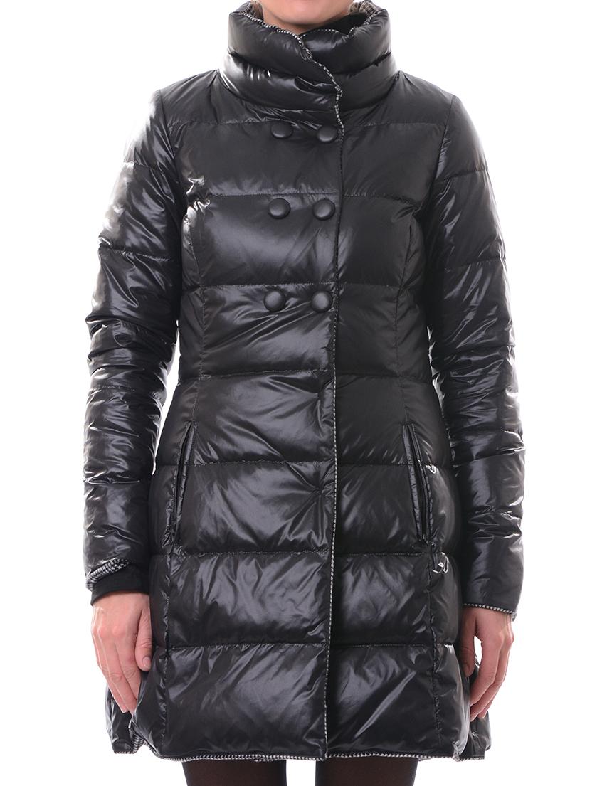 Купить Пальто, PATRIZIA PEPE, Белый, Черный, 20%Перо 80%Пух, Осень-Зима