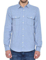 Мужская рубашка CLOSED C84400-2RH-20-515_blue