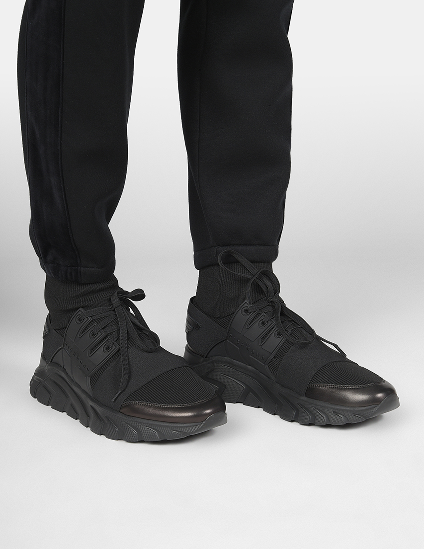 Мужские кроссовки John Richmond 5805-black