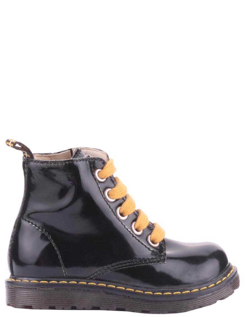 Детские ботинки для девочек NATURINO 3745-black