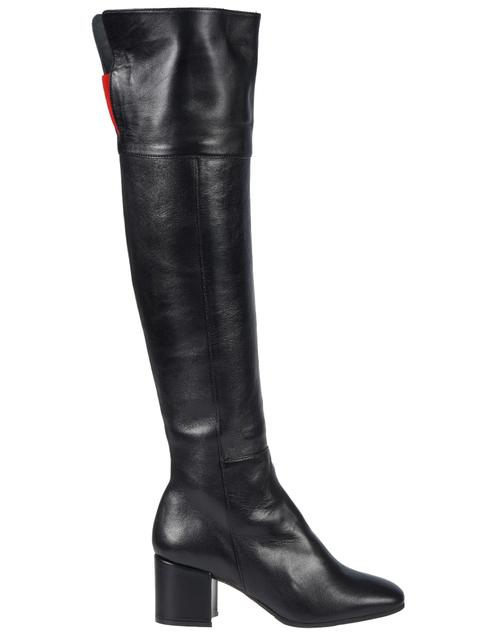 черные Ботфорты Griff Italia sandra-black размер - 36; 40; 41