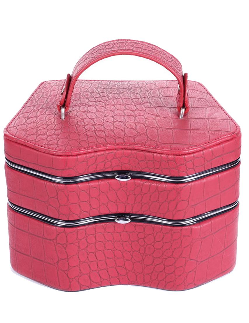 Купить Кейсы для украшений, Кейс для украшений, SOLO MASSIMA, Розовый, Осень-Зима