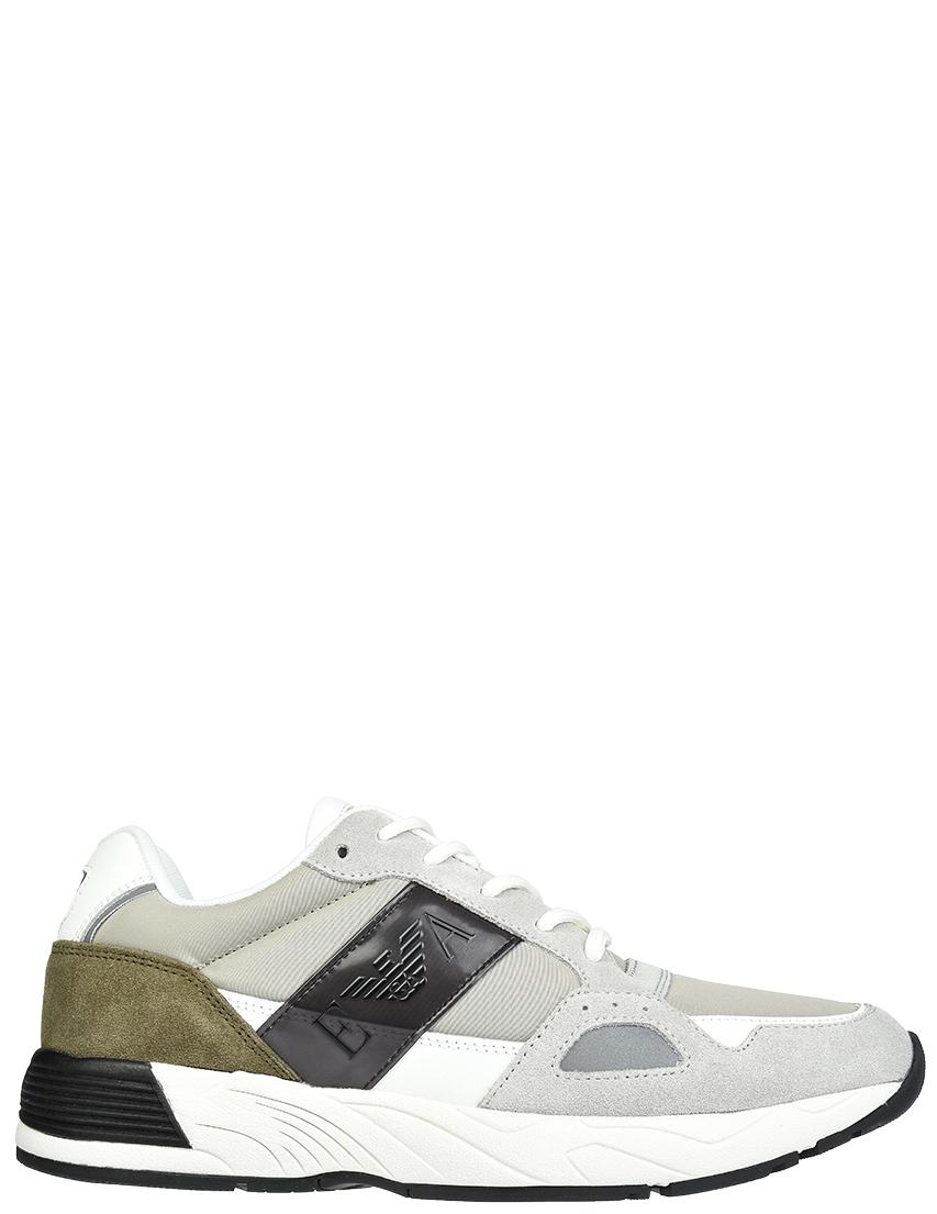 Мужские кроссовки Emporio Armani X4X220__gray