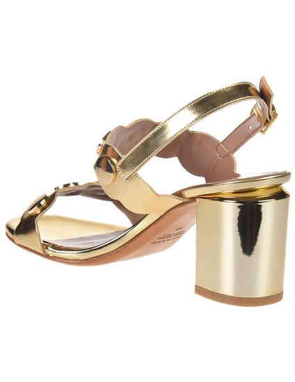 золотые женские Босоножки Albano 2298_gold 2425 грн