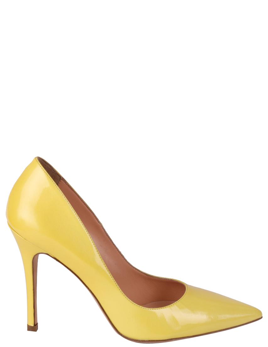 Купить Туфли, MAC COLLECTION, Желтый, Весна-Лето