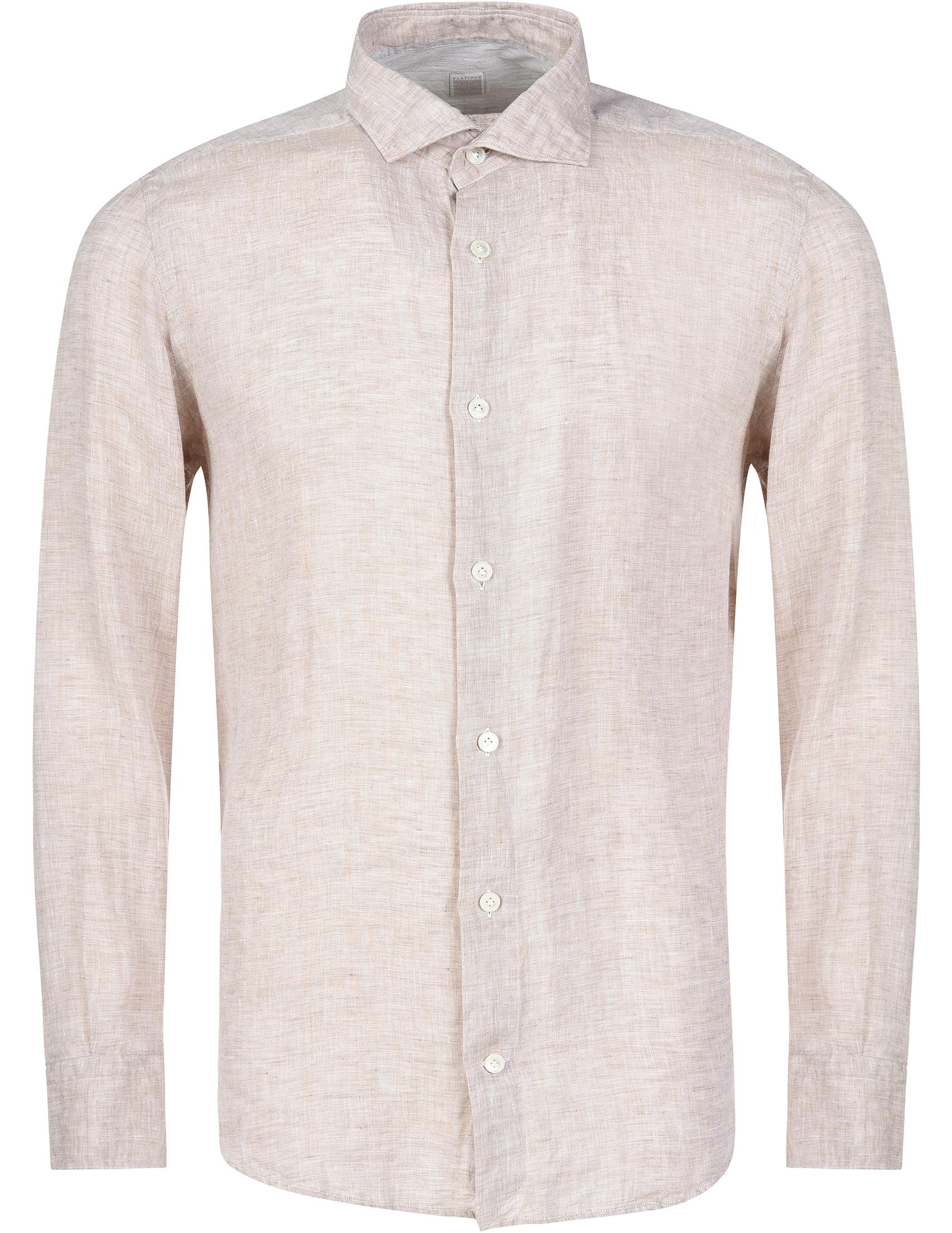 Купить Рубашки, Рубашка, ELEVENTY, Бежевый, 100%Лен, Весна-Лето