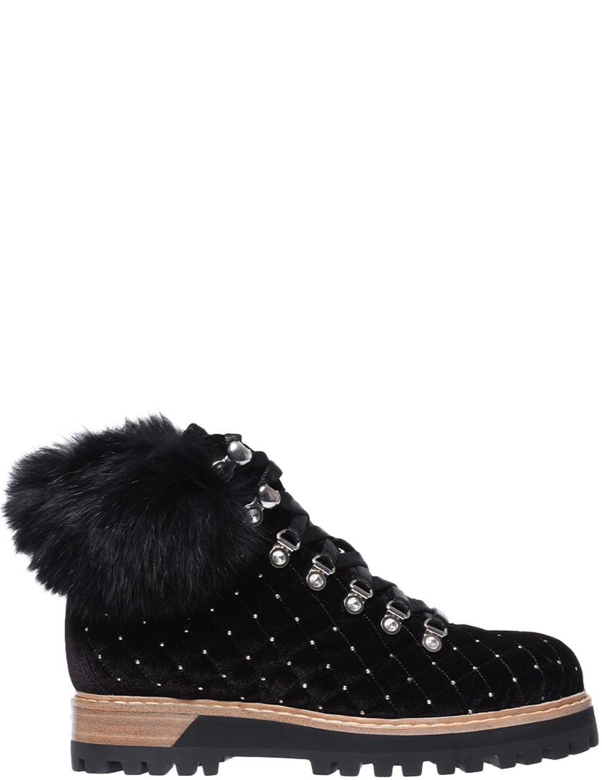 Женские ботинки Le Silla AGR-75124_black