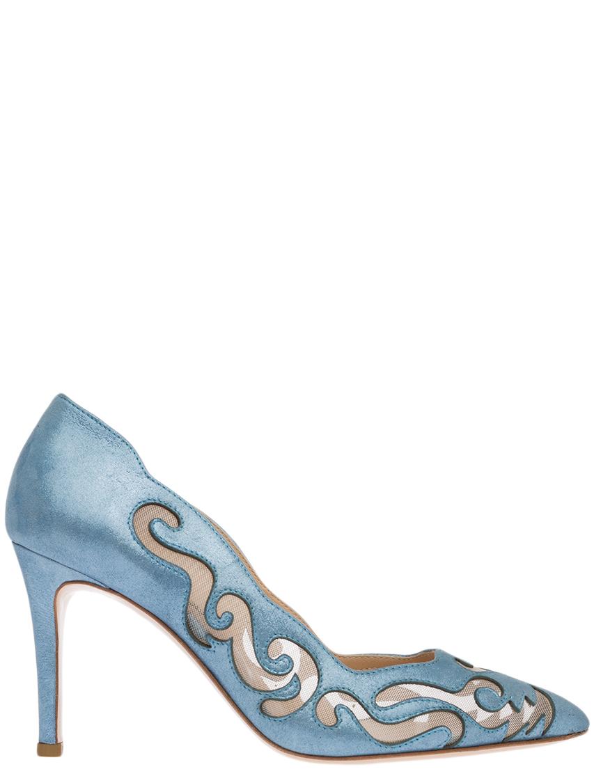 Купить Туфли, MARINO FABIANI, Голубой, Весна-Лето