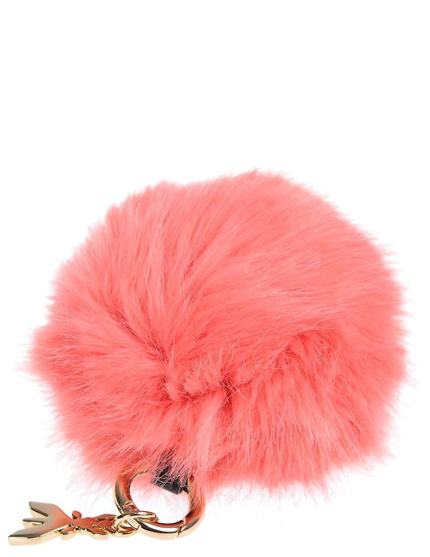Купить Аксессуар к сумке, PATRIZIA PEPE, Розовый, 100%Мех, Осень-Зима