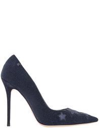 Женские туфли Karl Lagerfeld 3276_temno_siniu