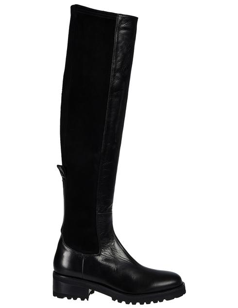 черные Ботфорты Vittorio Virgili 3119_blakc размер - 38; 37; 37.5