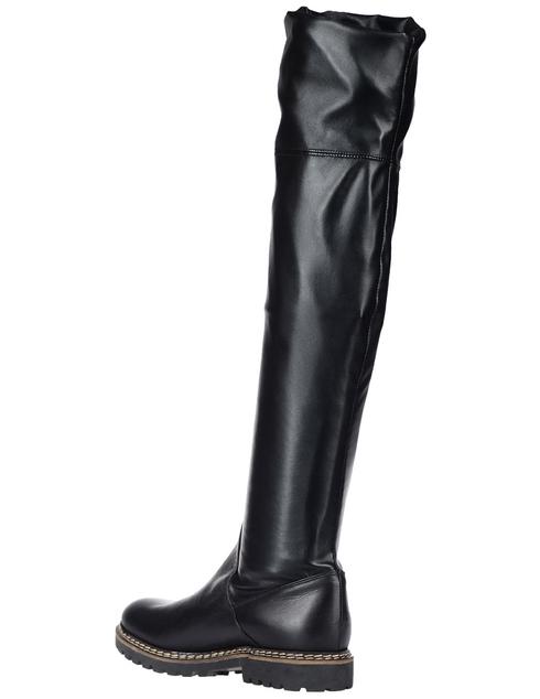 женские черные Ботфорты Griff Italia 608_black - фото-2
