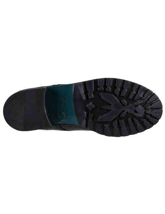 женские черные кожаные Ботинки Patrizia Pepe 2V8937-A3RL-K103_black - фото-5