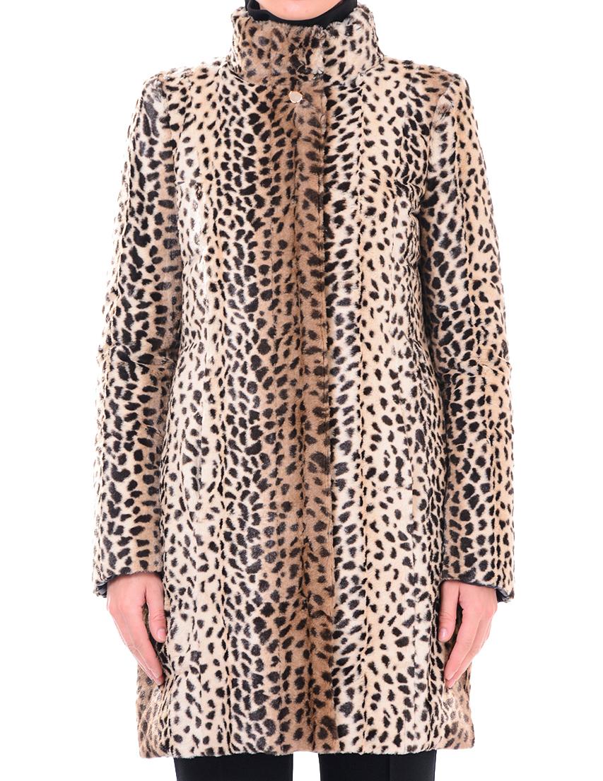 Купить Пальто, PATRIZIA PEPE, Принт, 10%Перо 90%Пух, Осень-Зима