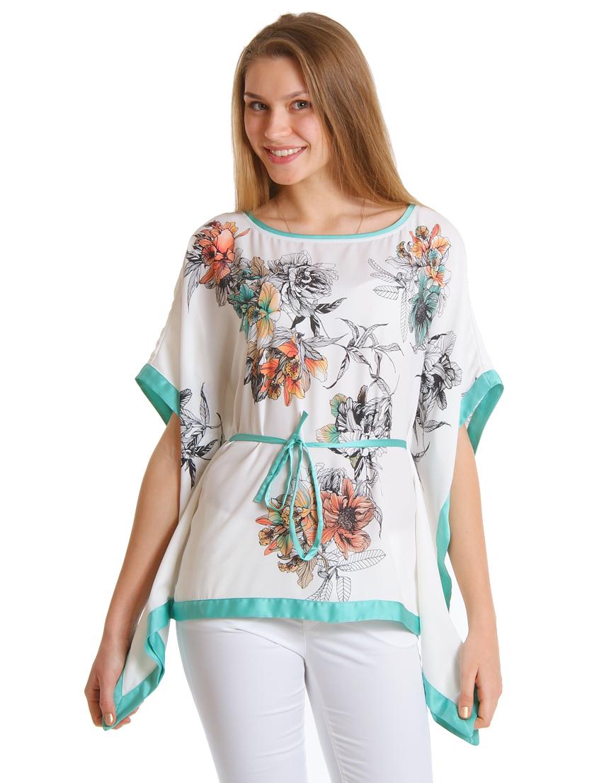 Купить Блуза, GUESS BY MARCIANO, Белый, 100%Полиэстер, Весна-Лето