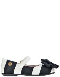 Детские туфли для девочек Moschino 25792-bianco-nero_multi