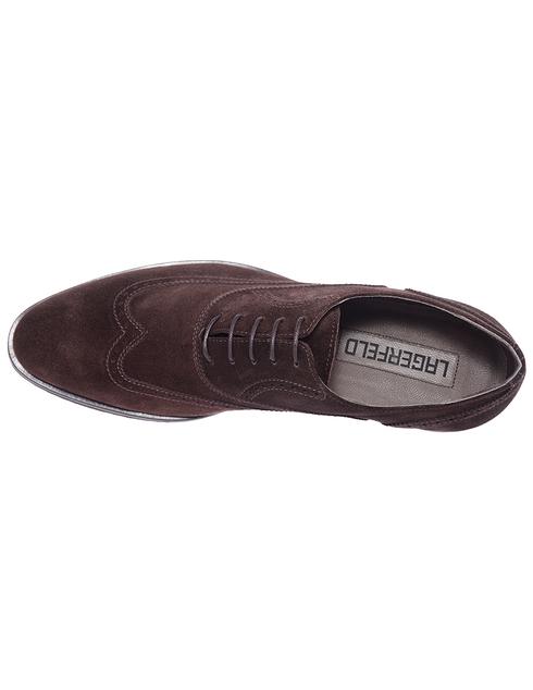 коричневые мужские Броги Lagerfeld 856996672434-480 6100 грн