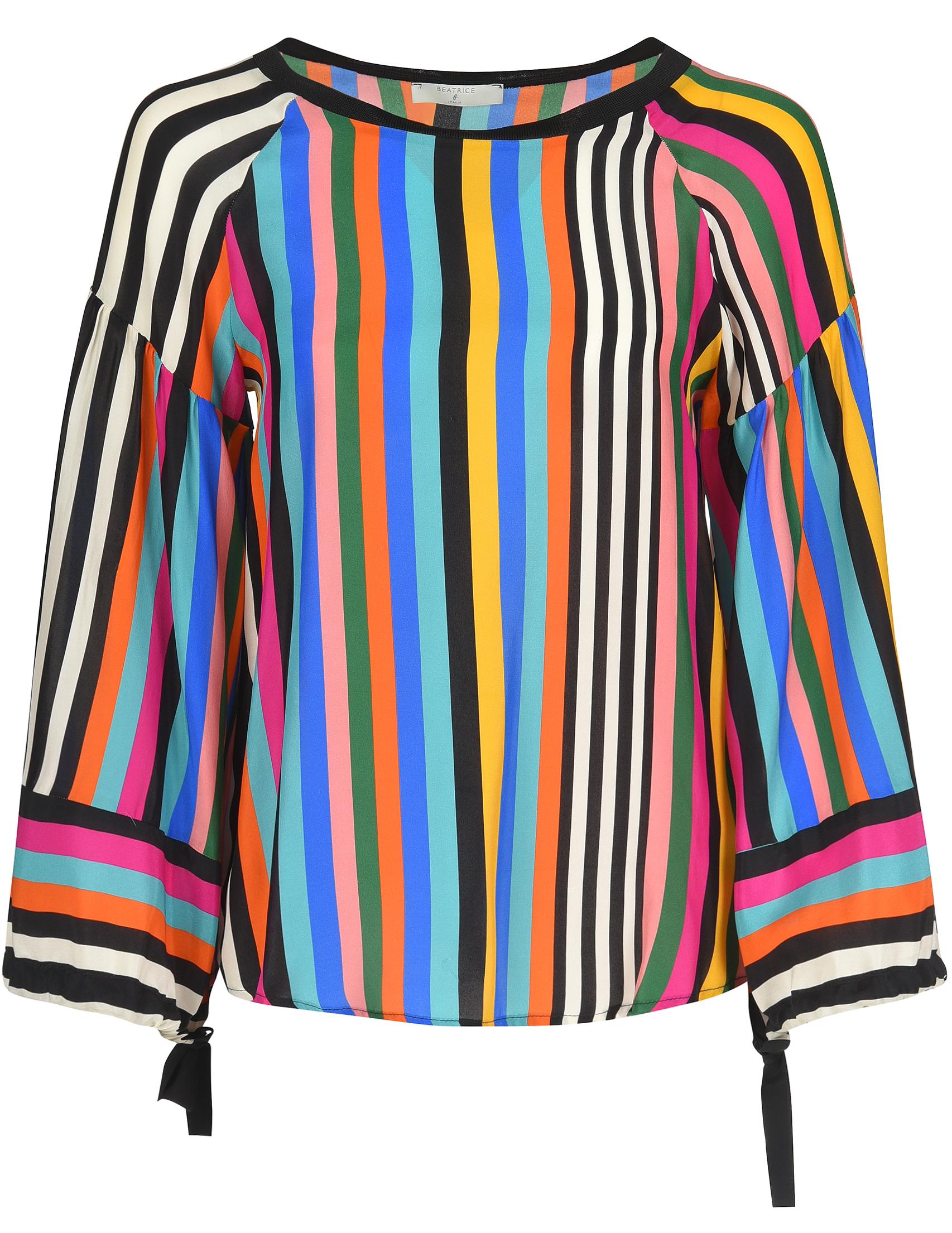 Купить Блуза, BEATRICE.B, Многоцветный, 100%Шелк;69%Ацетат 31%Шелк, Весна-Лето