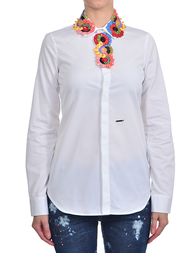 Женская рубашка DSQUARED2 0398_white