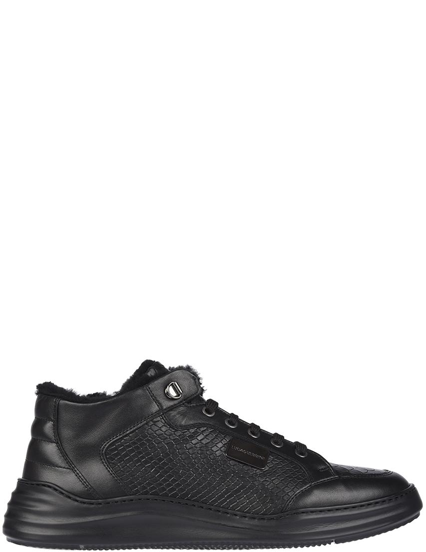 Мужские кроссовки Luca Guerrini 9318K_black