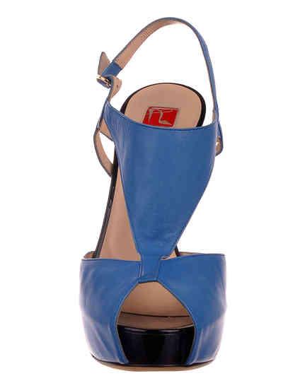 синие Босоножки Ballin 921315 размер - 36