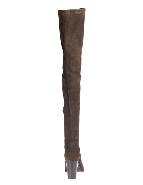 коричневые Ботфорты Le Silla 89968_brown
