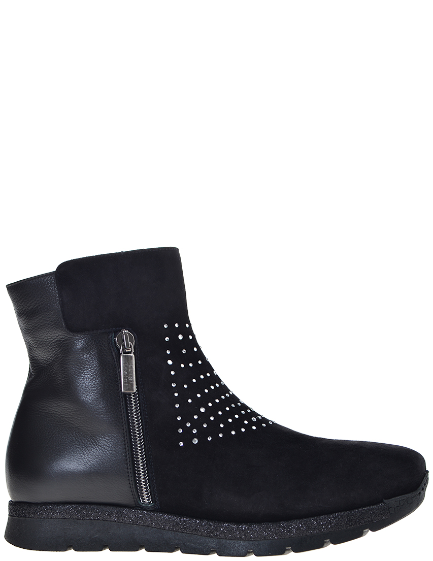 Женские ботинки Luigi Traini 21107_black