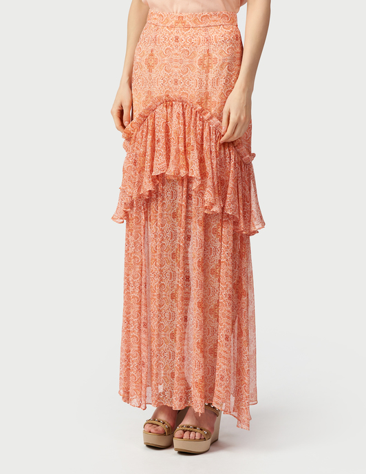Thurley TH-SS19-SK1647-BALMY-NIGHT-maxi-coral фото-2