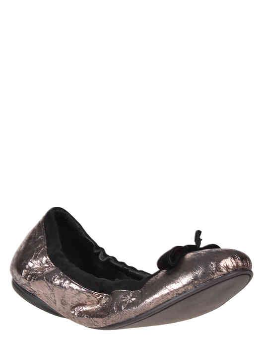 женские серебряные Балетки Sergio Rossi Serg01_silver - фото-2