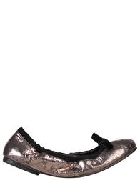 Женские балетки SERGIO ROSSI Serg01_silver