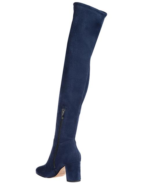 женские синие Ботфорты Icone 71025_blue - фото-2
