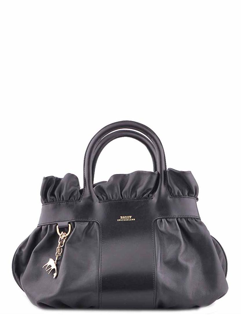 Купить Женские сумки, Сумка, BALLY, Черный, Весна-Лето