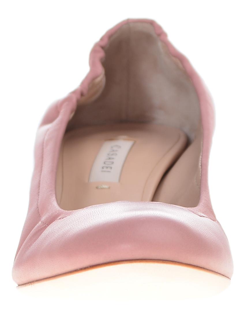 Фото 4 - женские туфли  розового цвета
