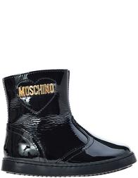 Детские ботинки для девочек Moschino 25359_black