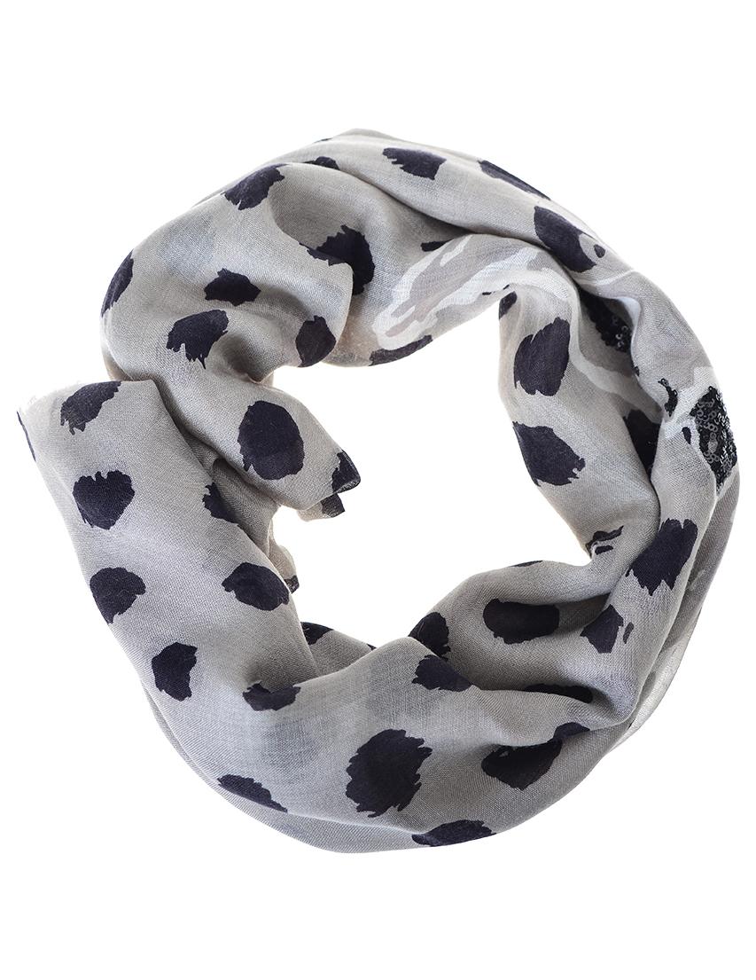 Женский шарф ARMANI JEANS 924077-grey-bamby