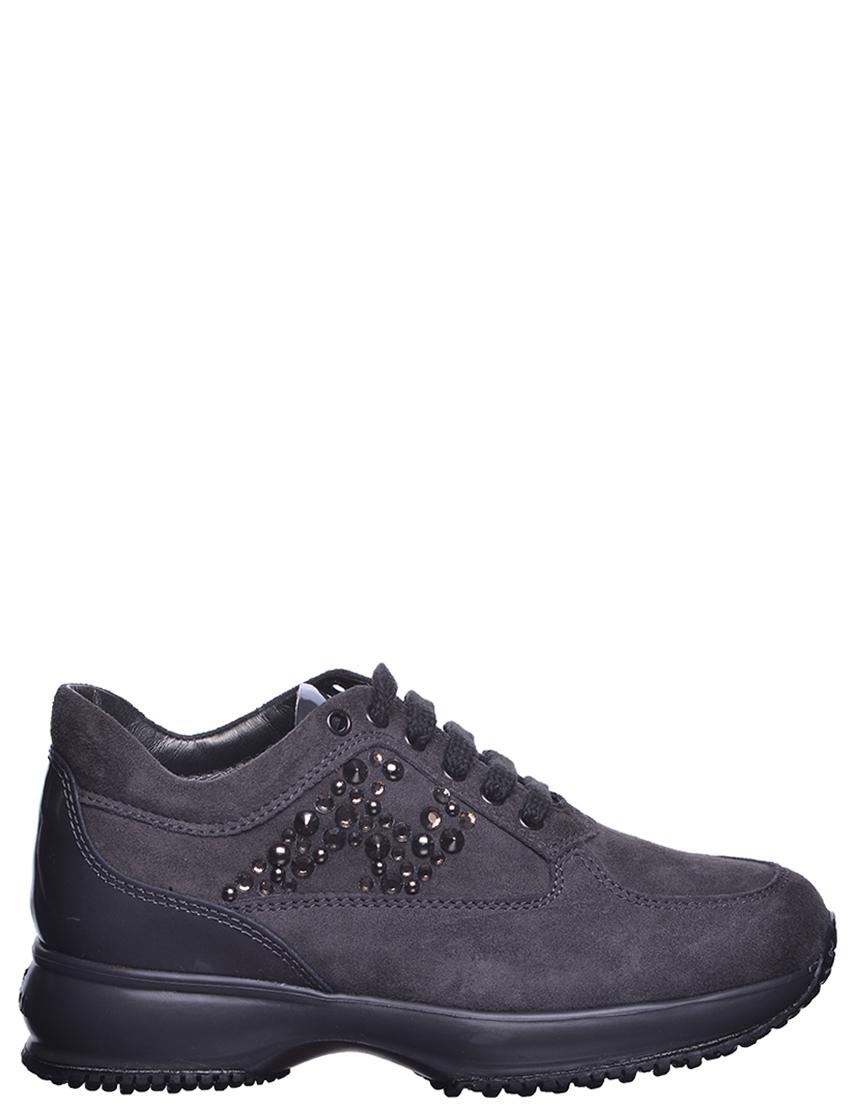 Детские кроссовки для девочек HOGAN PB800-grey
