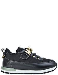 Детские кроссовки для девочек Moschino 25586-nero_black