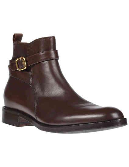 женские коричневые Ботинки Berto Giantin AGR-A2005808_brown - фото-2