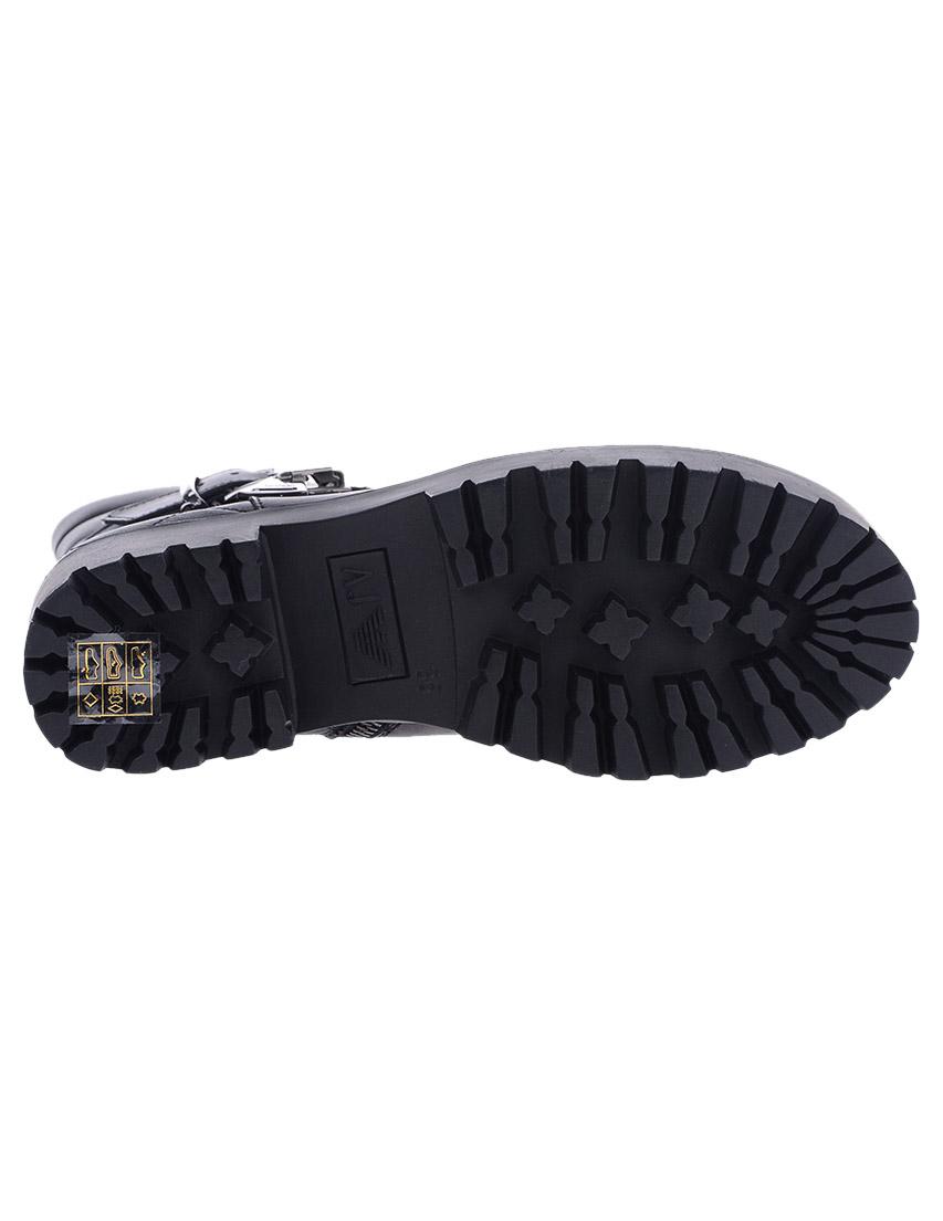 Фото 8 - женские ботинки и полуботинки  черного цвета