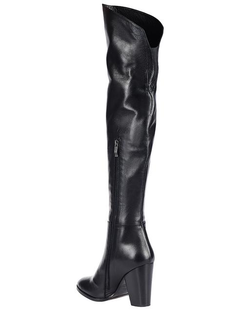 женские черные Ботфорты Griff Italia 62-871_black - фото-2
