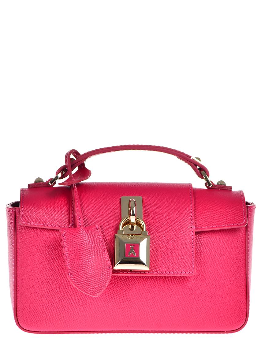Купить Женские сумки, Сумка, PATRIZIA PEPE, Розовый, 100%Экокожа, Осень-Зима